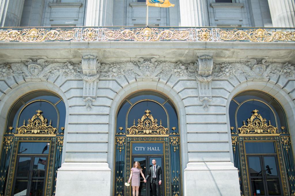 Rachel Howden Photography San Francisco City Hall Wedding