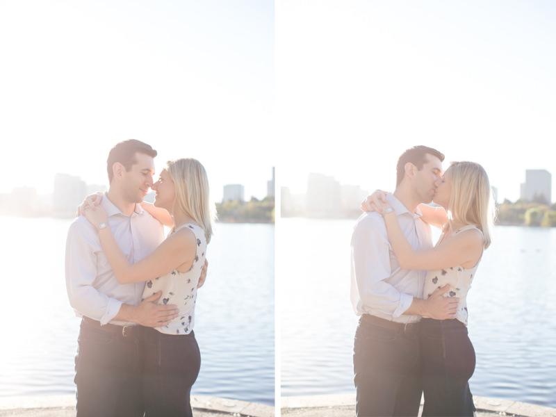 Lake Merritt Engagement Photographer