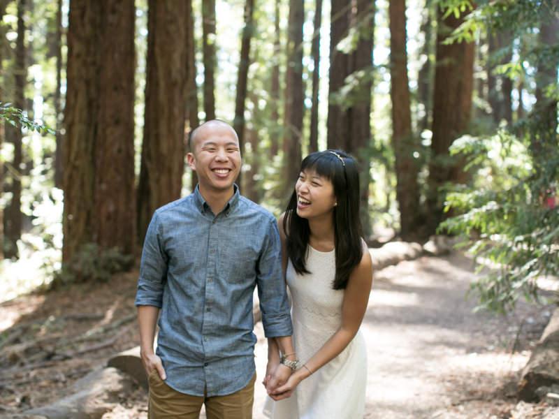 Oakland Redwoods Engagement