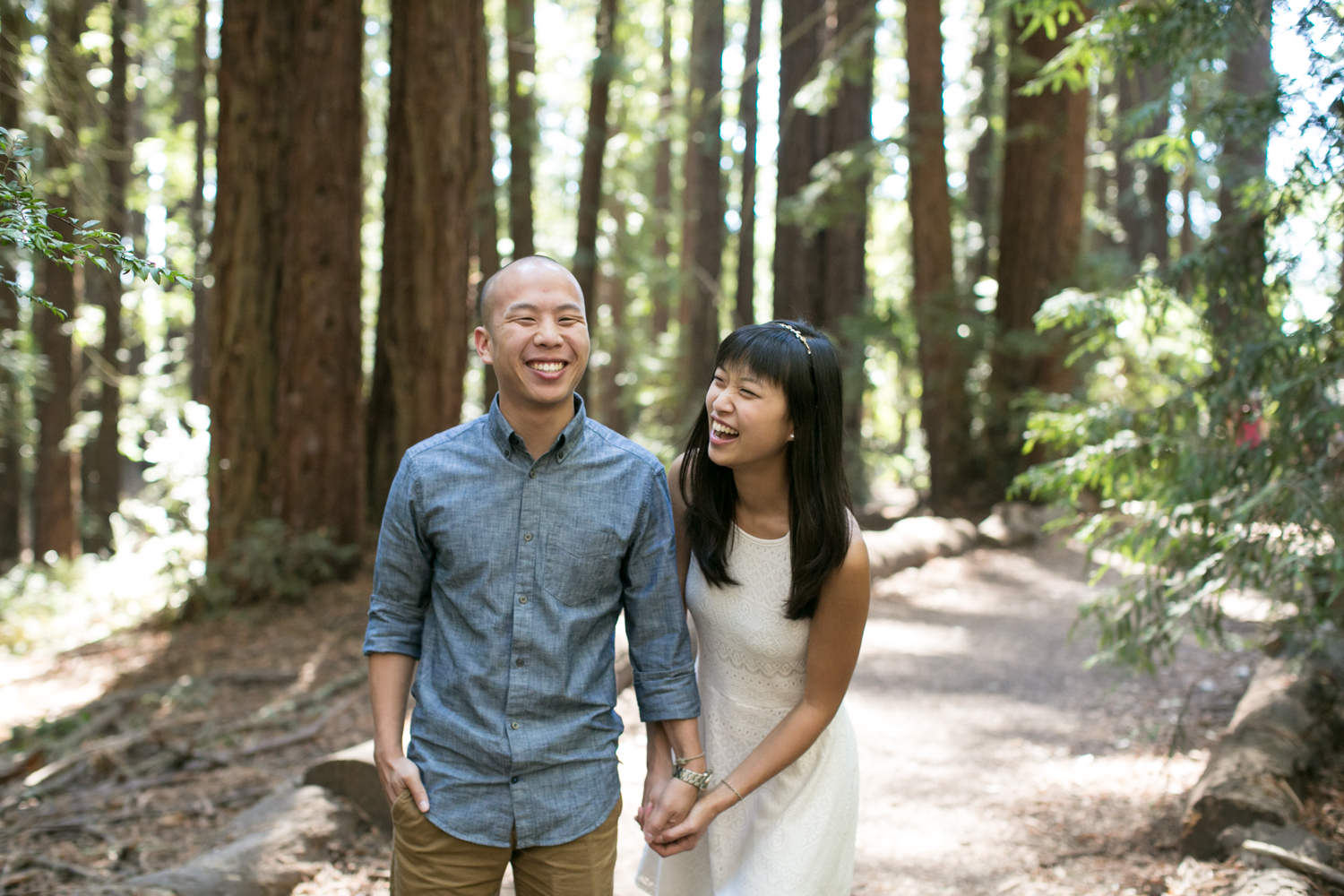 Oakland Redwoods Engagement