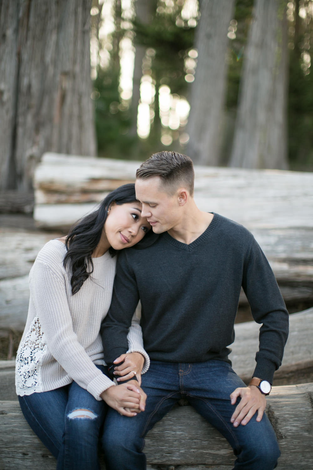Presidio Engagement Photographer