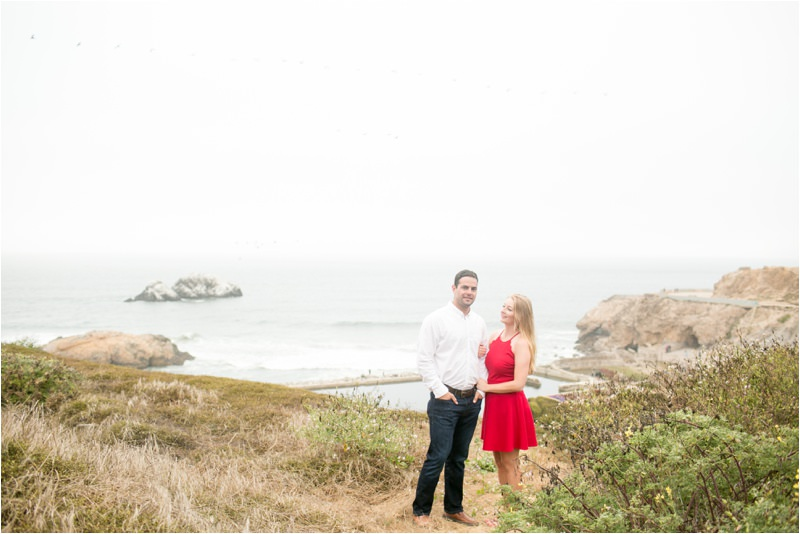 Lands End Engagement Photographer
